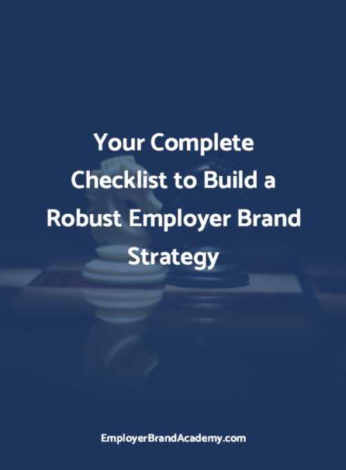 employer branding strategy checklist